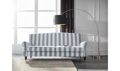 Guido Maria Kretschmer Home&Living 3-Sitzer »Rennes«, in Samtoptik oder Baumwoll-Mix kaufen