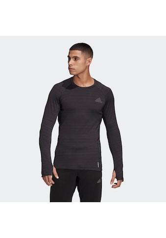 adidas Performance Langarmshirt »RUNNER LONGSLEEVE«, mit Daumenlöchern kaufen