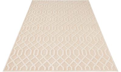 MINT RUGS Teppich »Caine«, rechteckig, 4 mm Höhe, Viskose Glanz mit Hoch-Tief... kaufen