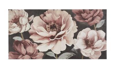 Bild mit prächtigen Blumen kaufen