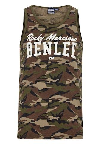 Benlee Rocky Marciano Muskelshirt mit Markenprint kaufen