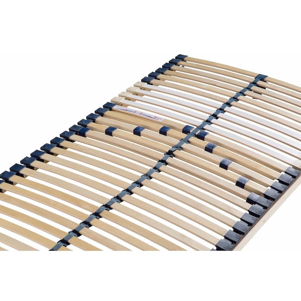 Breckle Lattenrost »Manao Fix 30 Leisten«, 30 Leisten, Kopfteil nicht verstellbar, Komfort - langlebig, individuelle Härteinstellung, 7- Zonen Lattenrost, Made in Germany