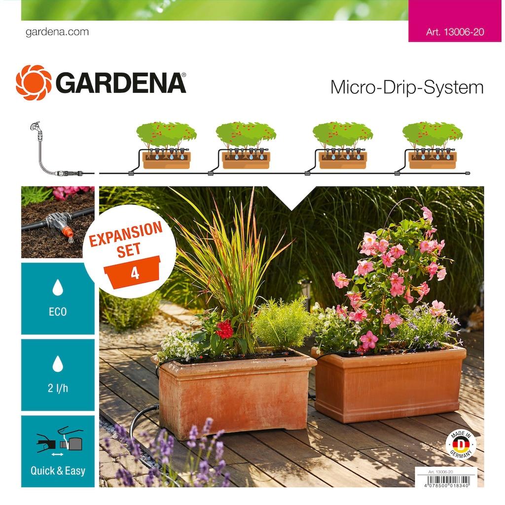 GARDENA Bewässerungssystem »Micro-Drip-System, 13006-20«, Erweiterungsset Pflanztröge