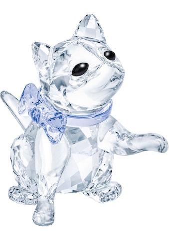 Swarovski Dekofigur »KAETZCHEN, 5465837«, Swarovski® Kristall mit schwarzem Emaille kaufen