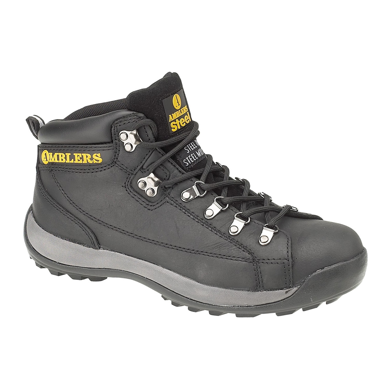Amblers Safety Arbeitsschuh Steel Herren Sicherheitsstiefel / Sicherheitsschuhe FS123 Herrenmode/Schuhe/Komfortschuhe/Schnürschuhe