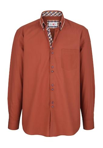 Roger Kent Hemd mit Doppelkragen kaufen