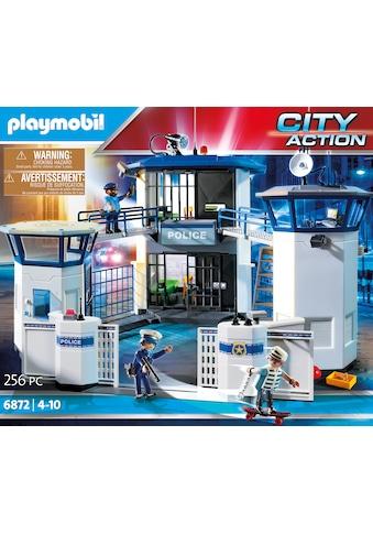 Playmobil® Konstruktions-Spielset »Polizei-Kommandozentrale mit Gefängnis (6872), City Action«, Made in Germany kaufen