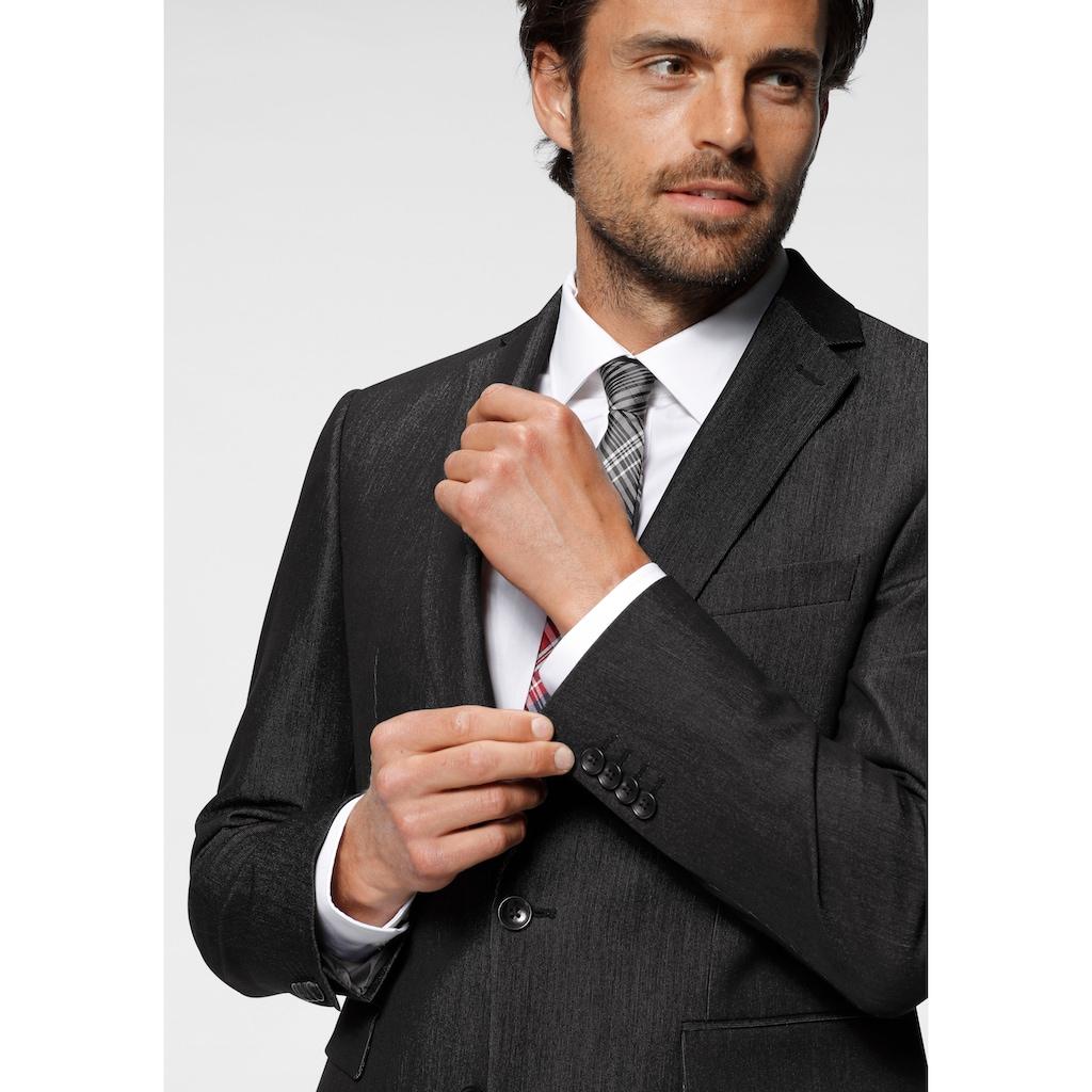 Man's World Anzug, in melierter Optik