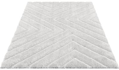 Hochflor - Teppich, »Fiori«, andas, rechteckig, Höhe 43 mm, maschinell gewebt kaufen