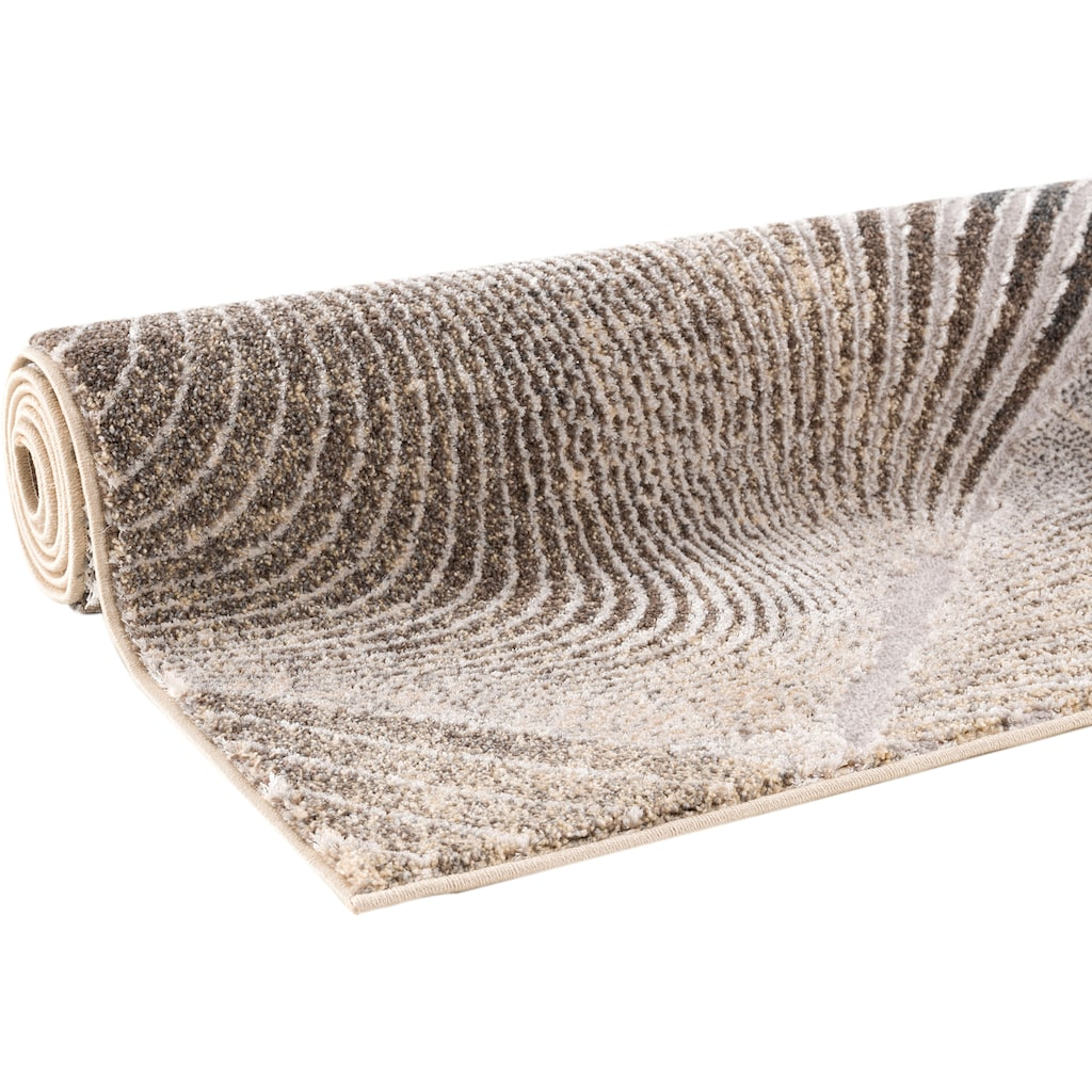 Home affaire Teppich »Falco«, rechteckig, 12 mm Höhe, mit Glanzgarn, Wohnzimmer
