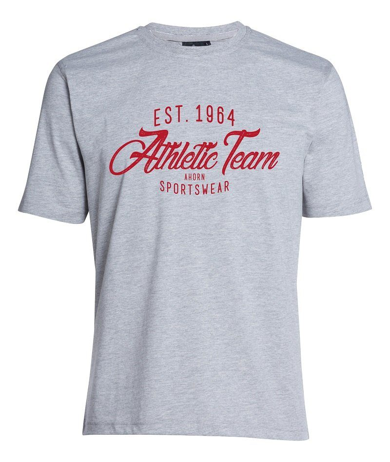 AHORN SPORTSWEAR T-Shirt mit sportivem Front-Print | Sportbekleidung > Sportshirts > T-Shirts | ahorn sportswear