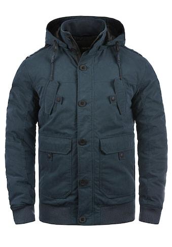 Solid Kurzjacke »Davio«, warme Jacke mit abnehmbarer Kapuze kaufen