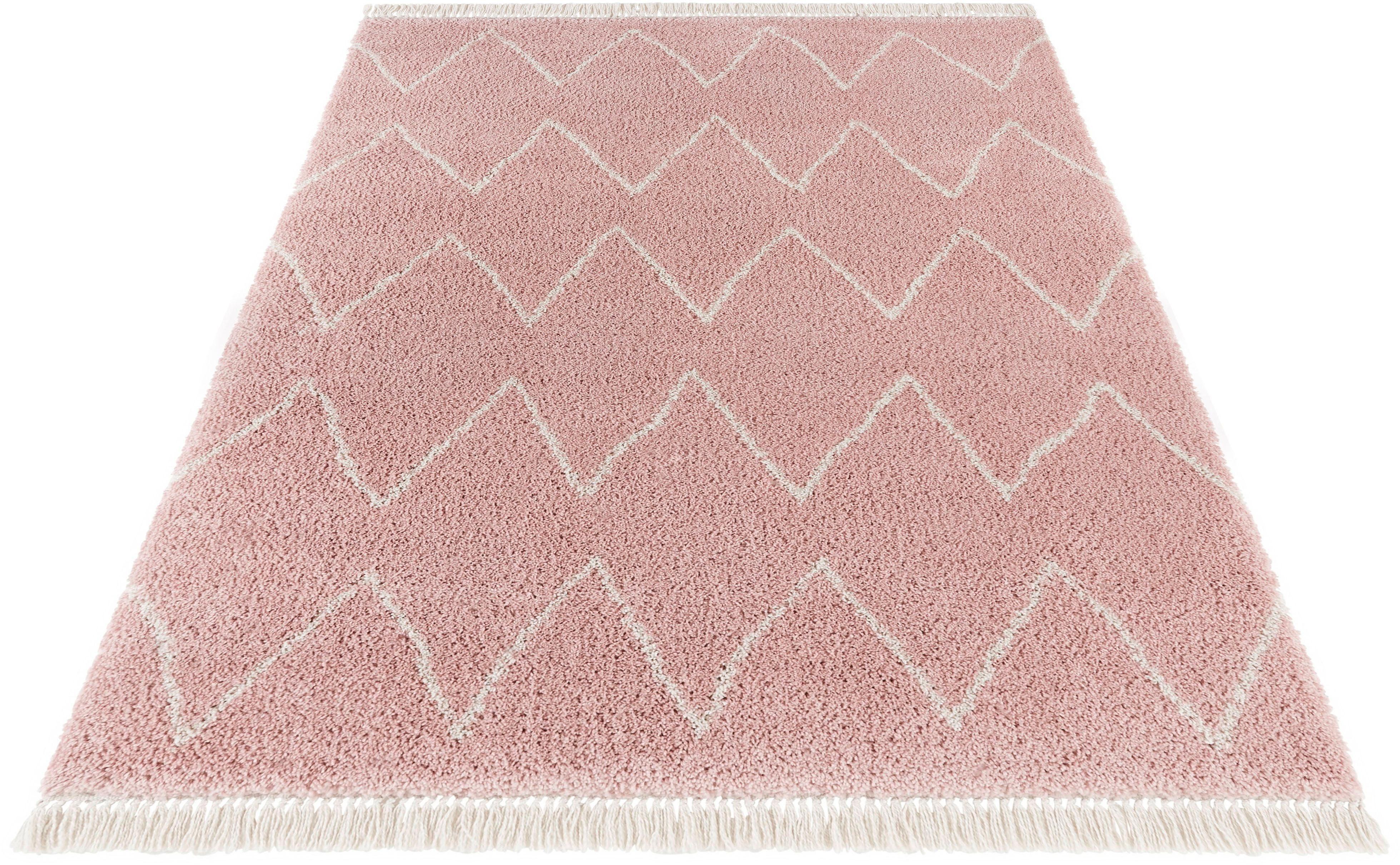 Hochflor-Teppich Ruby MINT RUGS rechteckig Höhe 35 mm maschinell gewebt