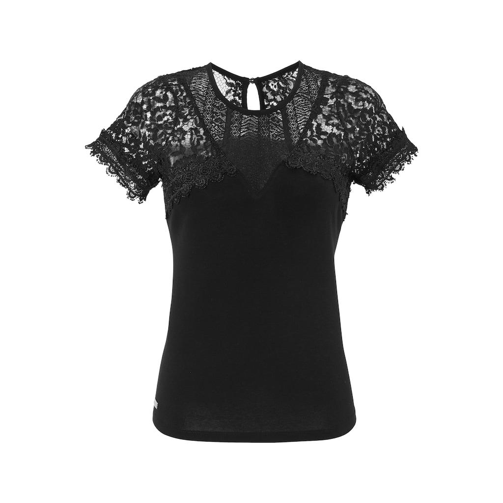 Hangowear Trachtenshirt Damen mit Knopfverschluss