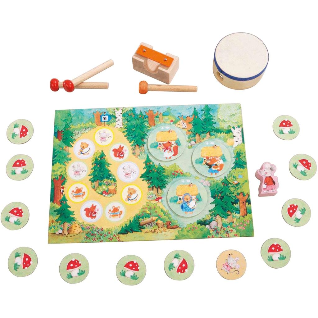 Haba Spiel »Meine ersten Spiele - Kling-Klang-Wald«, Made in Germany