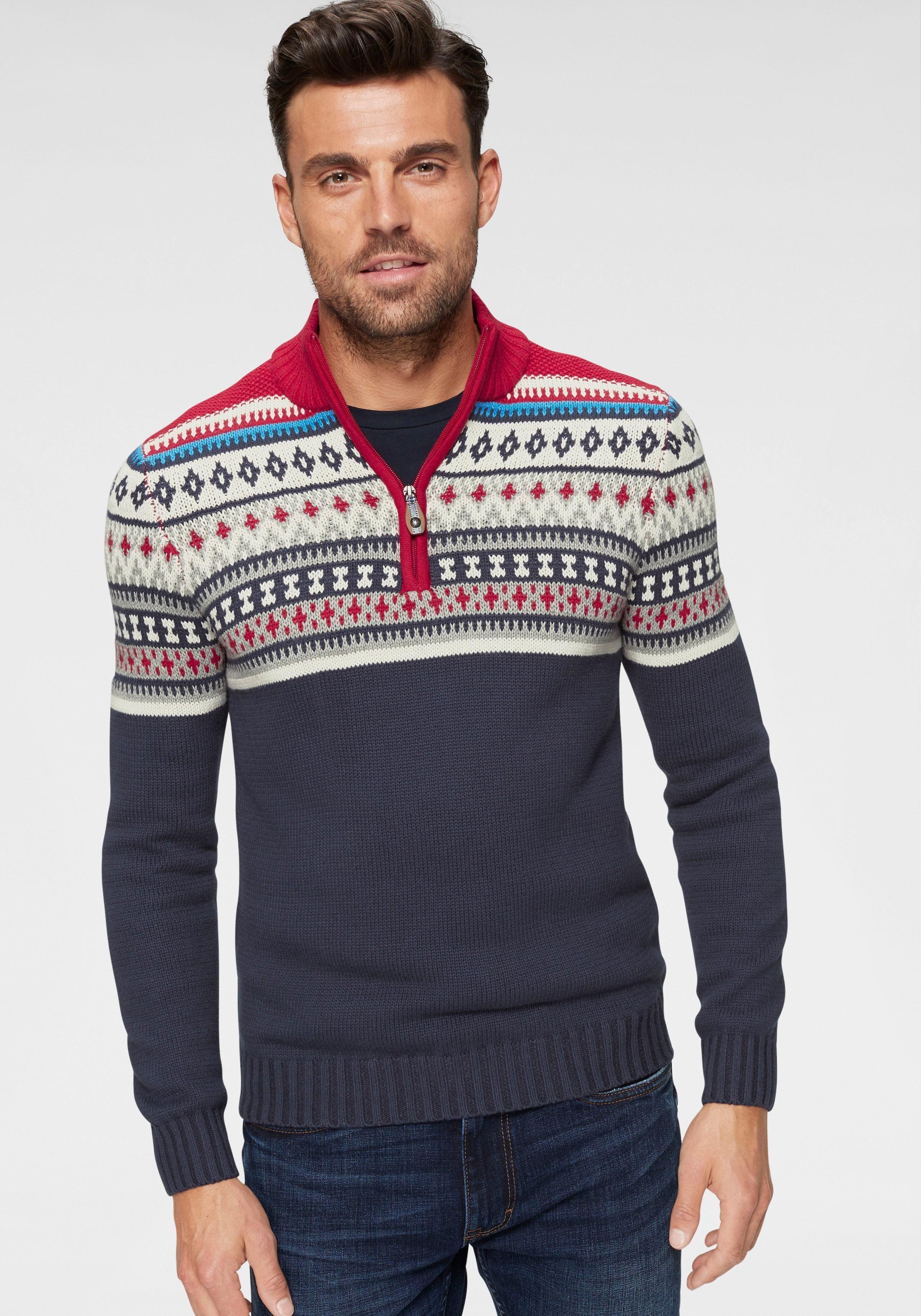 IZOD Norwegerpullover | Bekleidung > Pullover > Norwegerpullover | Blau | Izod
