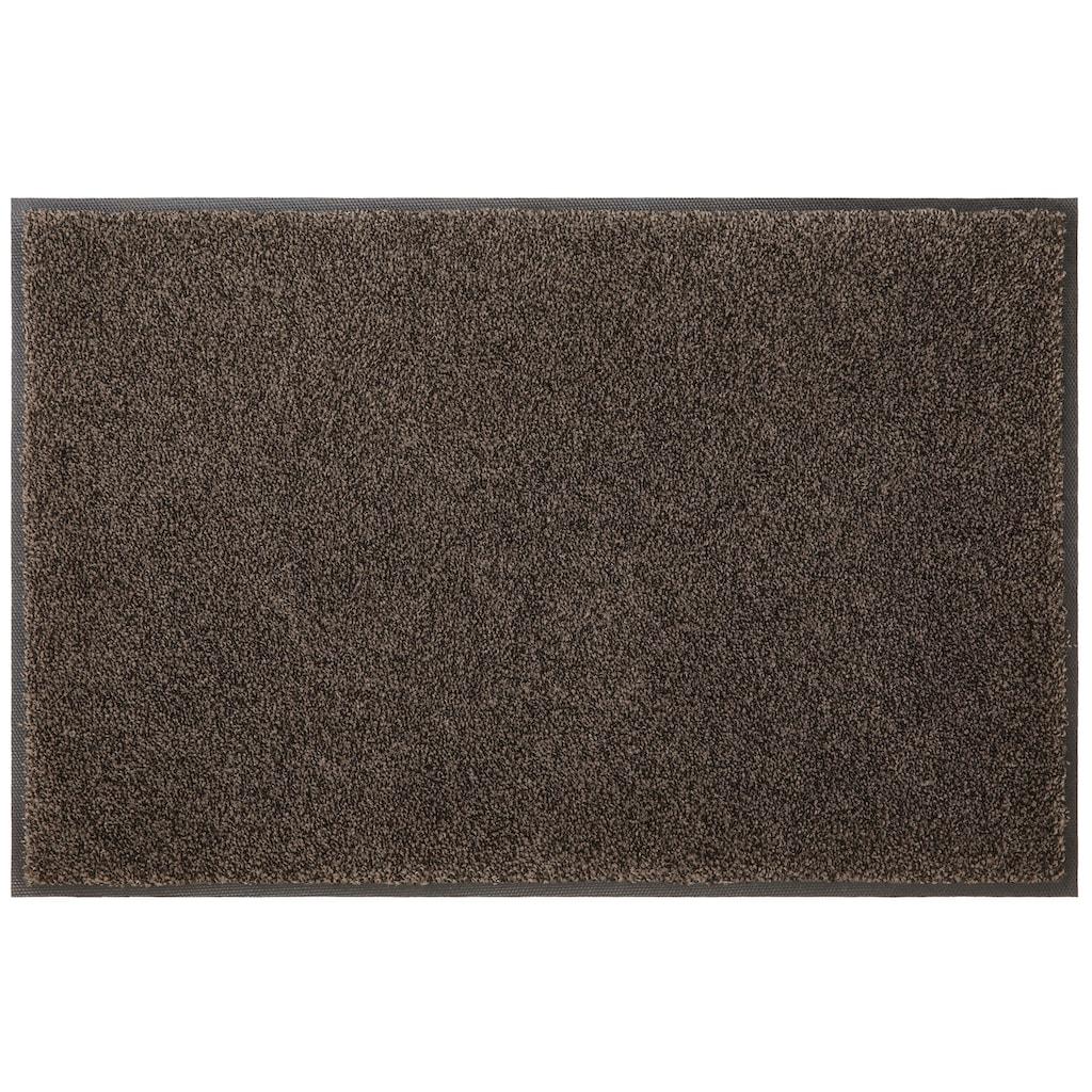 my home Fußmatte »Ember«, rechteckig, 9 mm Höhe, Schmutzfangmatte, In- und Outdoor geeignet