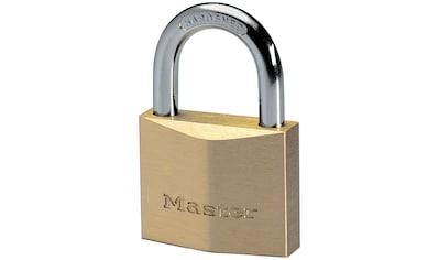 Master Lock Vorhängeschloss, Massivmessing kaufen