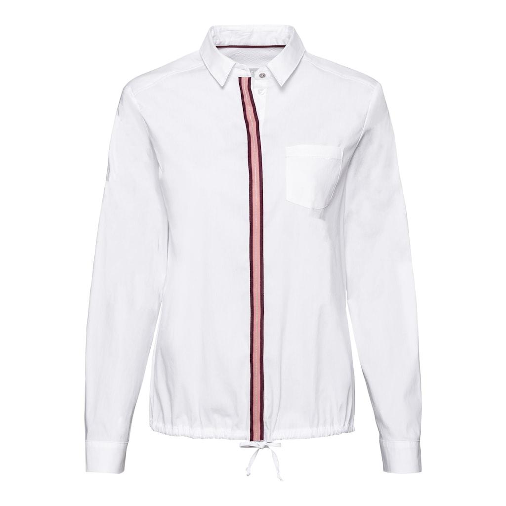 bianca Hemdbluse »ANINA«, mit trendigem Kontraststreifen