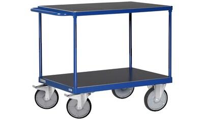 Protaurus Transportwagen, mit 2 Ladeflächen, 85x50 cm kaufen