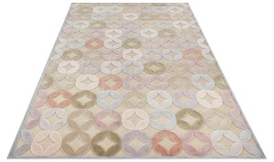 ELLE Decor Teppich »Chiers«, rechteckig, 8 mm Höhe, Hoch-Tief-Struktur, Wohnzimmer kaufen
