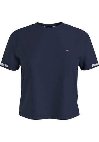Tommy Jeans Rundhalsshirt »TJW CROP BRANDED TEE«, mit Tommy Jeans Logo-Schriftzug am... kaufen