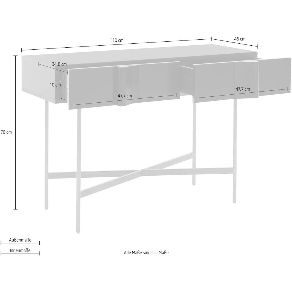 Guido Maria Kretschmer Home&Living Konsole »Cocoona«, in modernem Design