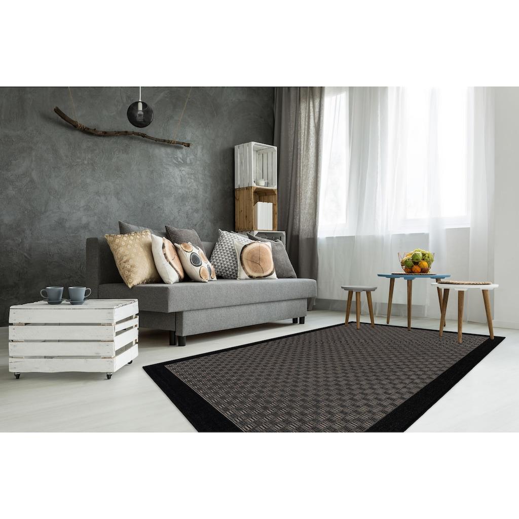 LALEE Teppich »Sunset 608«, rechteckig, 5 mm Höhe, In- und Outdoor geeignet, Wohnzimmer