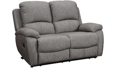 Home affaire 2-Sitzer »Marina«, mit 1 Relaxfunktion und Federkern-Polsterung kaufen