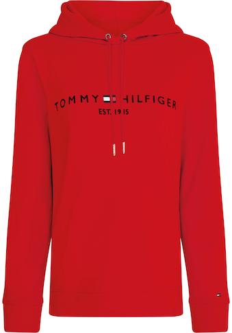 Tommy Hilfiger Kapuzensweatshirt, mit Tommy Hilfiger Logostickerei kaufen