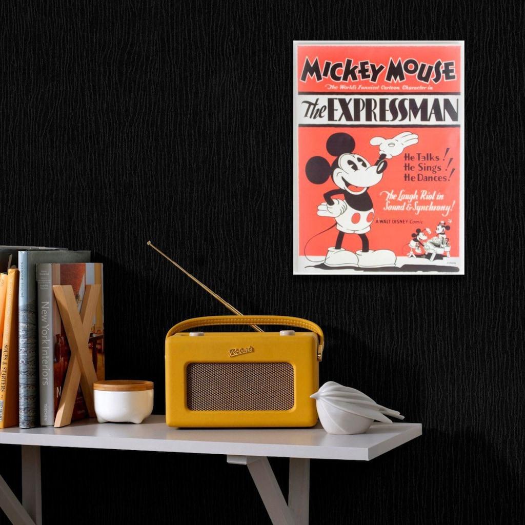 Art for the home Leinwandbild »MICKEY EXPRESSMAN«