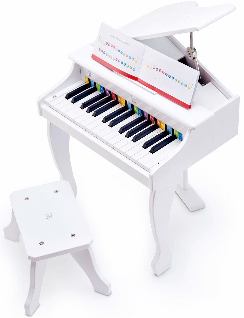 Hape Kinder Musikinstrument, »Luxusflügel, wei߫