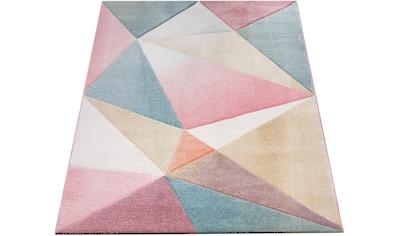 Paco Home Teppich »Kosy 310«, rechteckig, 16 mm Höhe, Kurzflor in schönen... kaufen