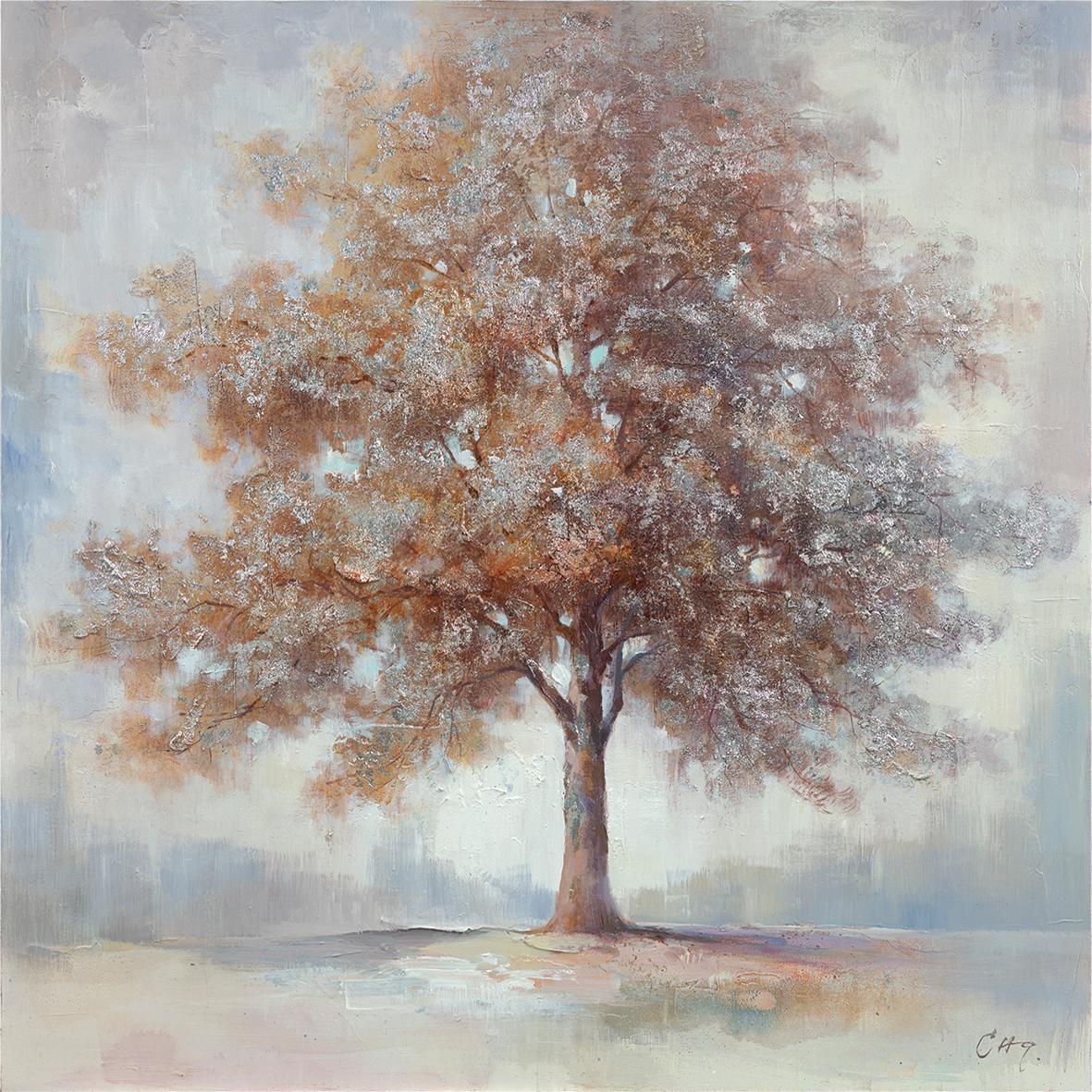 Premium collection by Home affaire Gemälde Tree II Wohnen/Accessoires & Leuchten/Wohnaccessoires/Bilder & Bilderrahmen/Gemälde