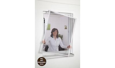 hecht international Insektenschutz-Fenster »Basic«, Stabiler Aluminium-Rahmen,... kaufen