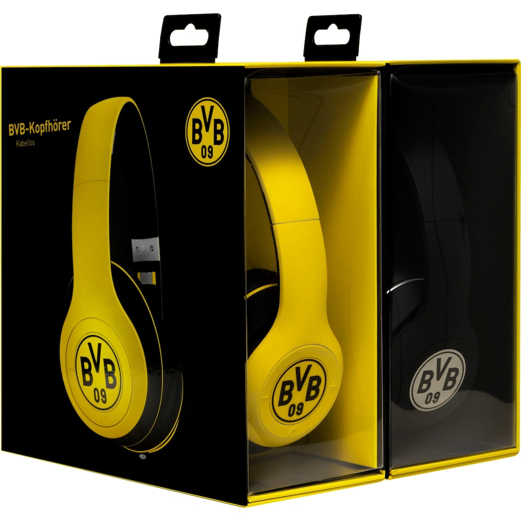 ready2music Bluetooth-Kopfhörer »RIVAL BVB Edition«, Bluetooth, Freisprechfunktion, BVB Fan Edition