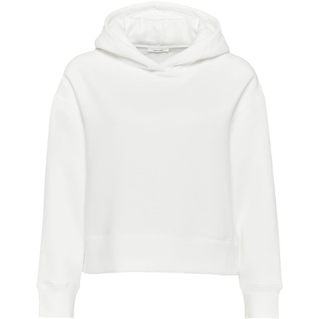 OPUS Kapuzensweatshirt »Gart«, extra weich