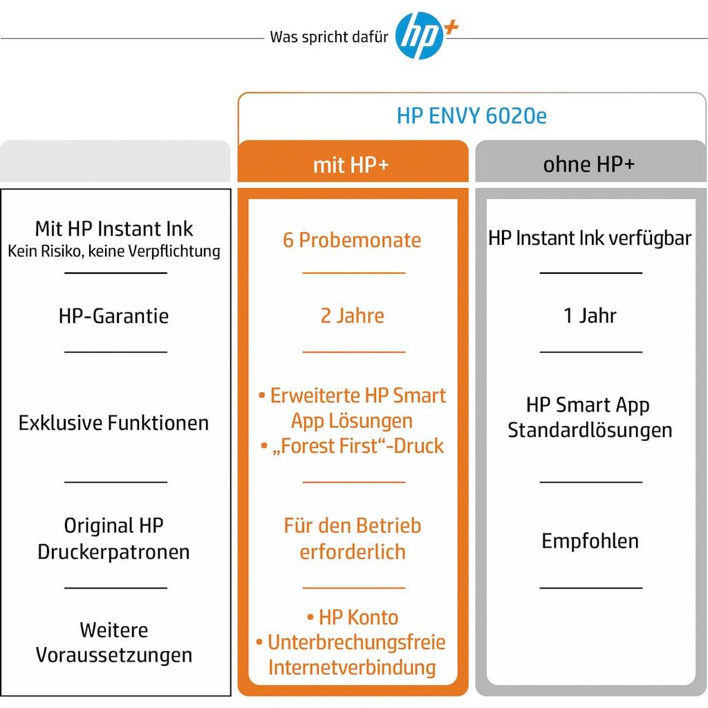 HP WLAN-Drucker »ENVY 6020e AiO Printer A4 color 7ppm«