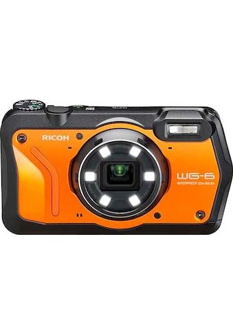 Ricoh Outdoor-Kamera »WG-6«, RICOH Objektiv, 11 Elemente in 9 Gruppen (5 asphärische Elemente) kaufen