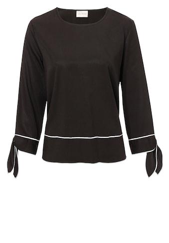 VIA APPIA Luftiges Shirt mit Ärmelschnürung kaufen