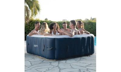 INFINITE SPA Whirlpool »SPA CHAMPION 6P«, BxTxH: 184x184x65 cm, 910l, bis zu 6 Personen kaufen