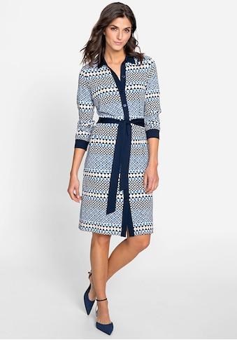 Olsen Blusenkleid, mit Hemdkragen und Knopfleiste kaufen