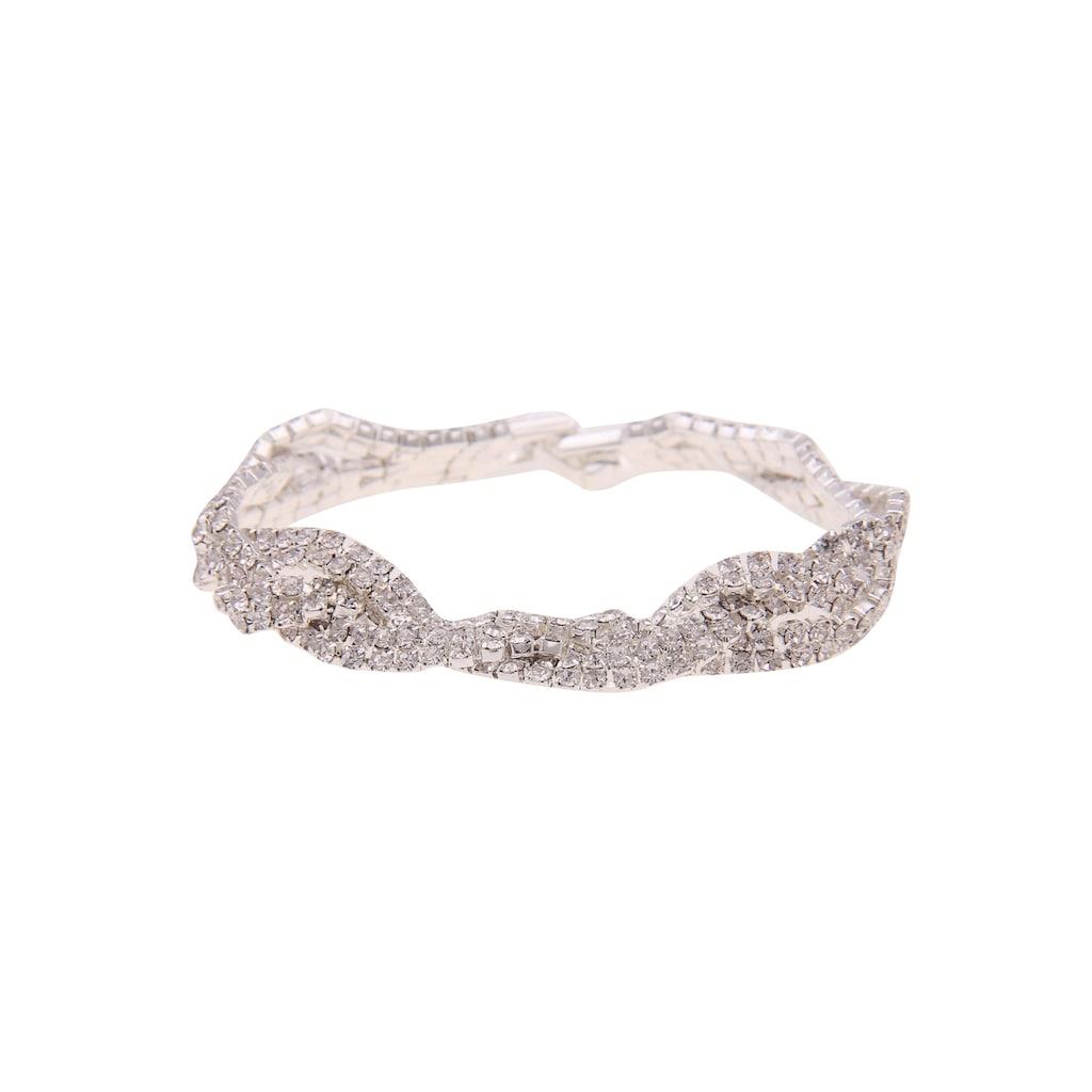 leslii Armband »Sofia, 260118303«, mit Strasssteinen