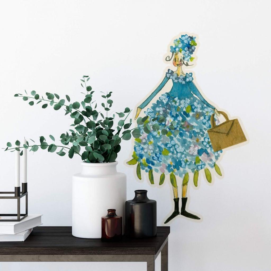 Wall-Art Wandtattoo »Blütenelfe Juni Flieder Monat«