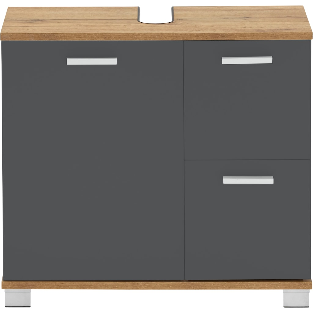 Places of Style Unterschrank »Badus«, Breite 60 cm, mit 2 Schubladen und 1 Tür