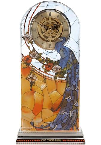 Goebel Tischuhr »Tiffany, Pfau blau, 67000401« kaufen