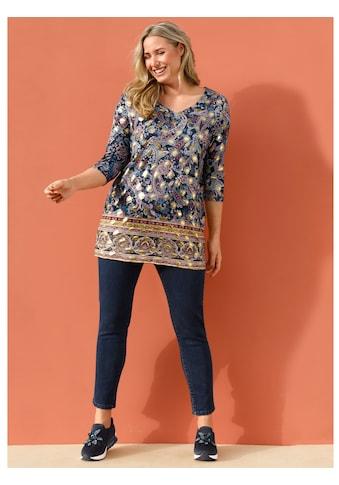 MIAMODA Longshirt, mit modischem Paisleymuster kaufen