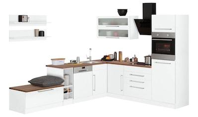 HELD MÖBEL Winkelküche »Samos«, mit E-Geräten, Stellbreite 300 x 250 cm kaufen