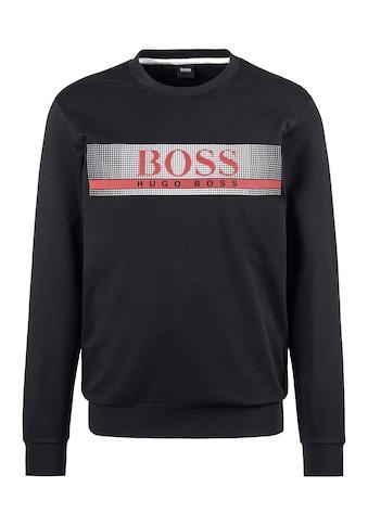 Boss Sweatshirt, Logodruck vorn kaufen