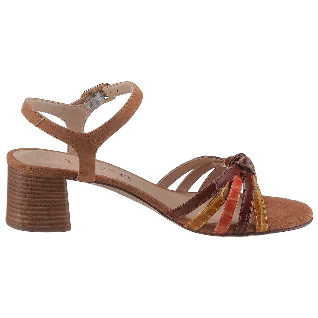 Unisa Sandalette »Greta«, im trendigen Retro-Style